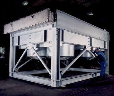 engineer-working-on-heat-exchanger